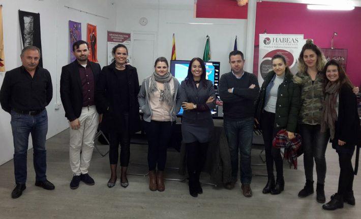 """En Habeas Legal agradecemos tu asistencia a """"Los Aspectos Jurídicos del Migrante Emprendedor""""- Abril"""