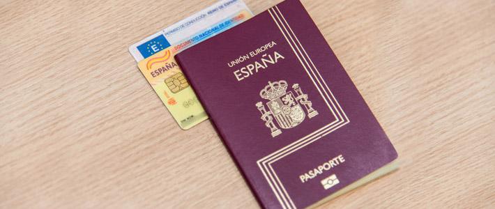 3 2 5 PASAPORTE G mod 1 - Nacionalidad Española