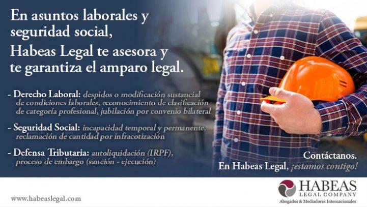 Derecho laboral y seguridad social,  Habeas te asesora