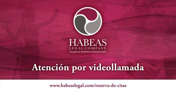 Atención desde Habeas Legal como medida preventiva del COVID-19
