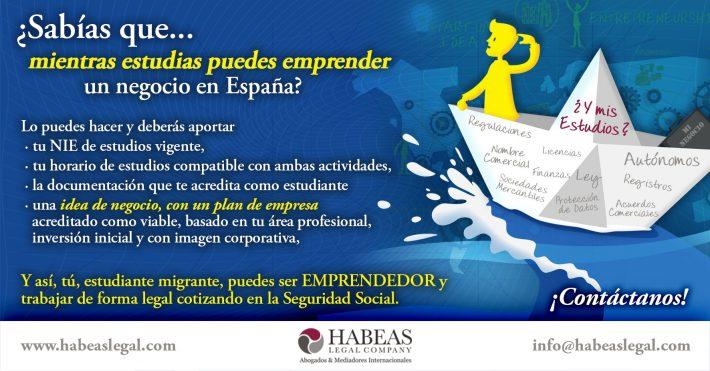 ¿Sabías que mientras estudias puedes emprender un negocio?