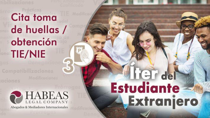 La Cita para la Toma de Huellas y obtención del TIE/NIE: el paso 3 del Íter del Estudiante Extranjero
