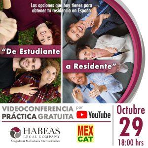 De Estudiante a Residente 2020 calendar OCT VIDEO 300x300 - Agenda de Eventos