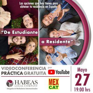 De Estudiante a Residente MAY 2021 calendar VIDEO 300x300 - Agenda de Eventos