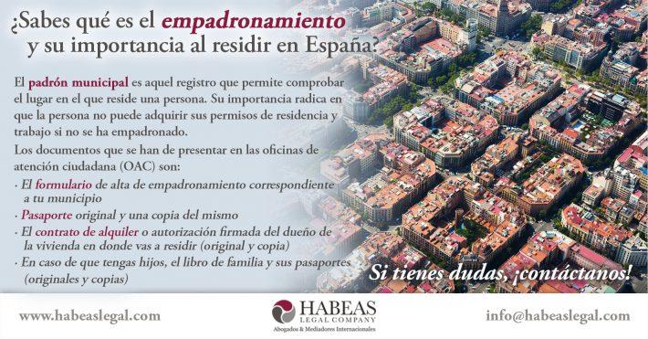 ¿Sabes qué es el empadronamiento y su importancia al residir en España?