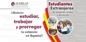 Servicio especializado de Habeas Legal para Estudiantes Extranjeros y Profesionales extranjeros en España