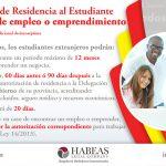 La residencia para la búsqueda de empleo – Modificación de Ley para Estudiantes Extranjeros (RDLEY 11/2018)