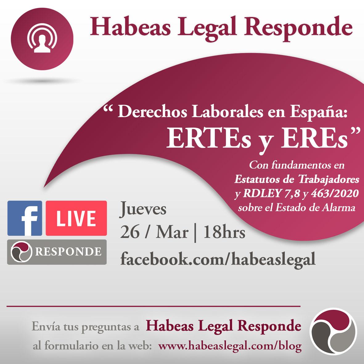 Derechos Laborales en España en caso de un ERTE o un ERE - Habeas Legal