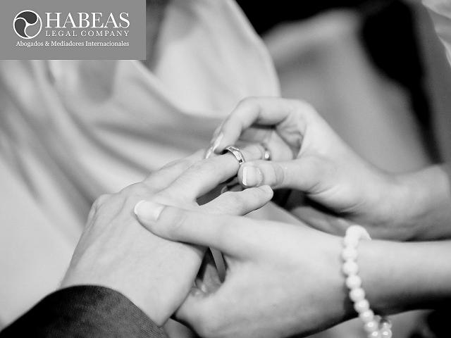 Matrimonios en Catalunya con Separación de Bienes