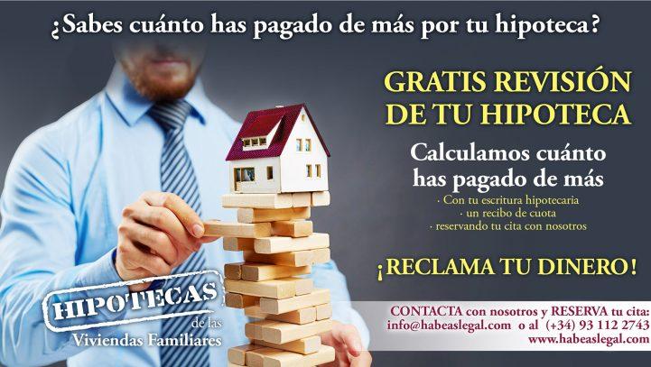 GRATIS Revisión de tu Hipoteca