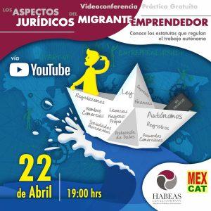 Migrante Emprendedor EVENTO calendar 2021 ABR VIDEO BIS 300x300 - Agenda de Eventos
