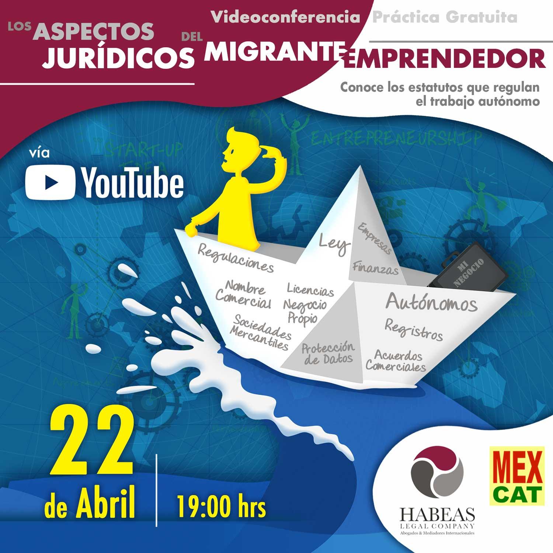 Sesión informativa de Habeas Legal sobre cómo emprender en España.