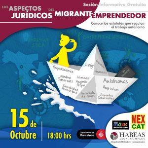 Migrante Emprendedor calendar OCT 2020 300x300 - Agenda de Eventos