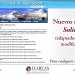 Nuevos modelos de Solicitud EX en Portal de Inmigración de España