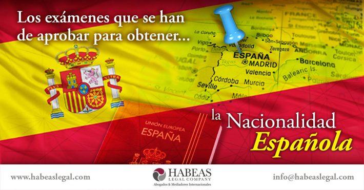 ¿Sabes qué exámenes se han de aprobar para iniciar el proceso de obtención de la Nacionalidad Española?