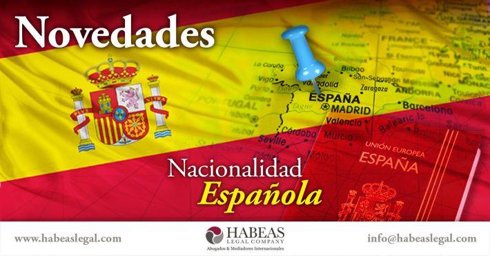Novedades sobre la Nacionalidad Española por Residencia