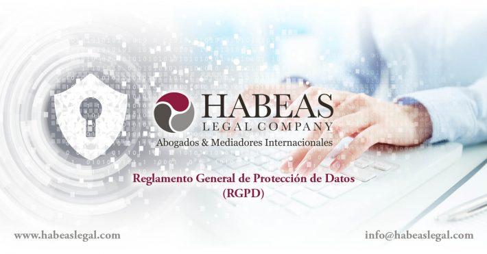 ¿Cuáles son los principios legales sobre la implementación del RGPD en Habeas Legal?