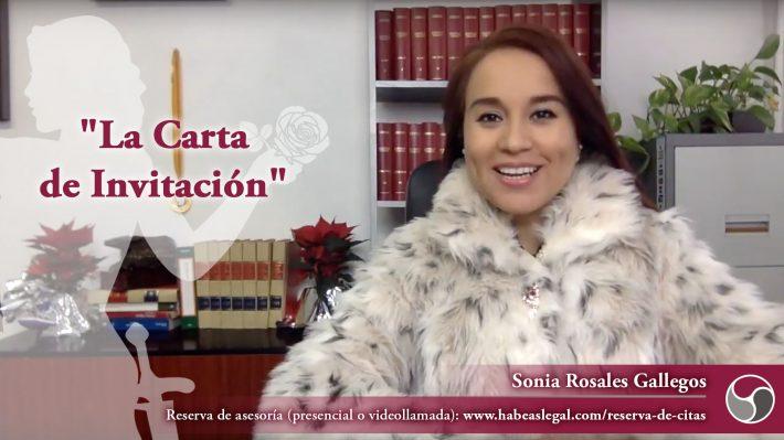 ¿Sabías que con la Carta de Invitación cumples el primer requisito de entrada a España para tus invitados?