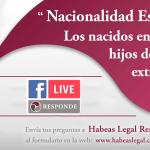 Nacionalidad Española de los bebés nacidos en España de padres extranjeros