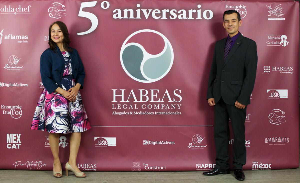 Habeas Legal 5º aniversario Sonia Rosales y César Cárdenas