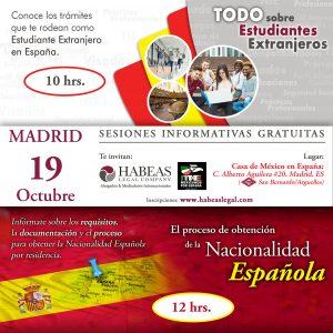 sesion Madrid Estudiantes y Nacionalidad calendar Oct 2019 300x300 - Atención MADRID: sesiones informativas gratuitas -sobre Estudiantes Extranjeros y Nacionalidad-